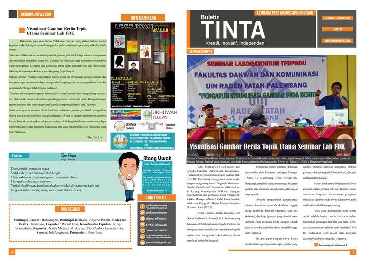 Buletin tinta edisi 42, 14 oktober 2016