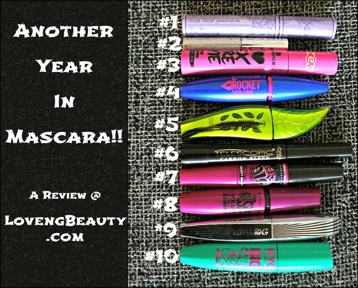 Check out LovengBeauty.com for this years mascara review!