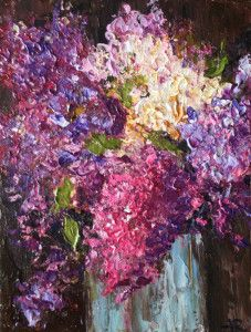 """Lilac bouquet"" by Alena Rumak"