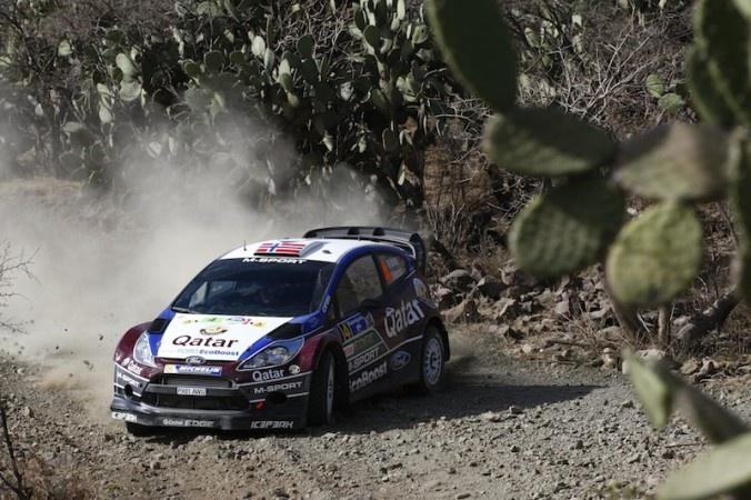 Mads Østberg på andre plass etter første dag av Rally Mexico