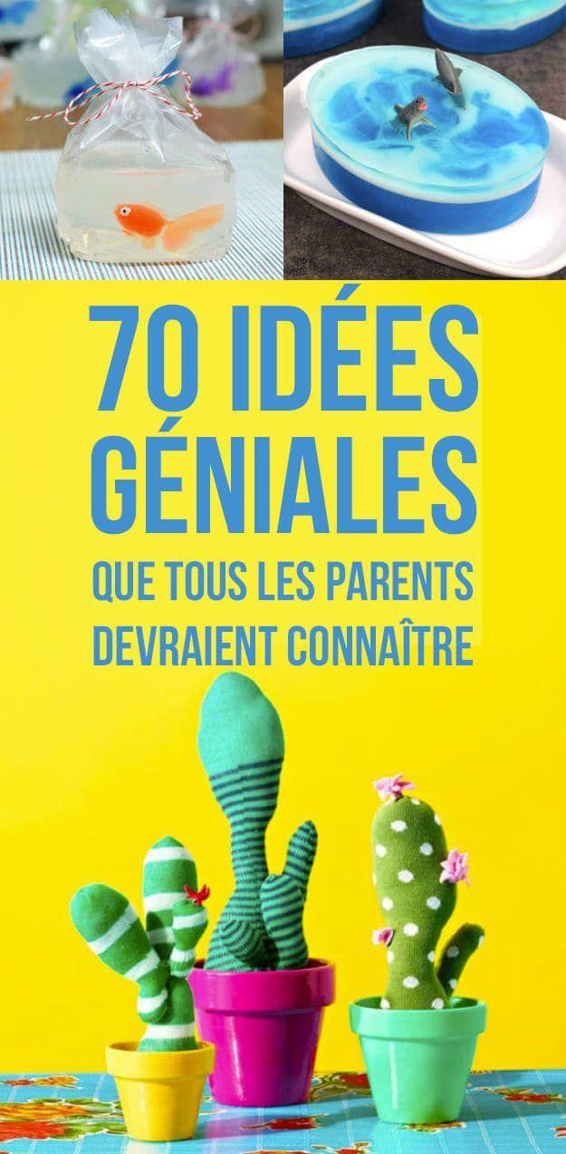70 idées géniales que tous les parents auraient aimé avoir plus tôt