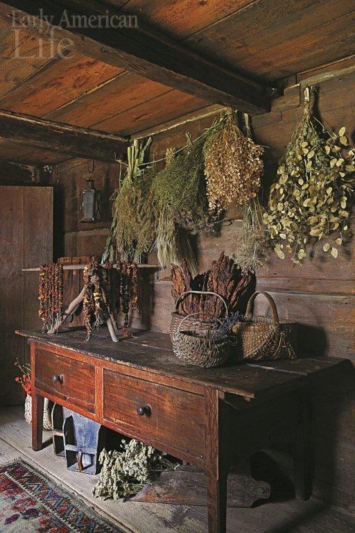 Prim Herb Drying