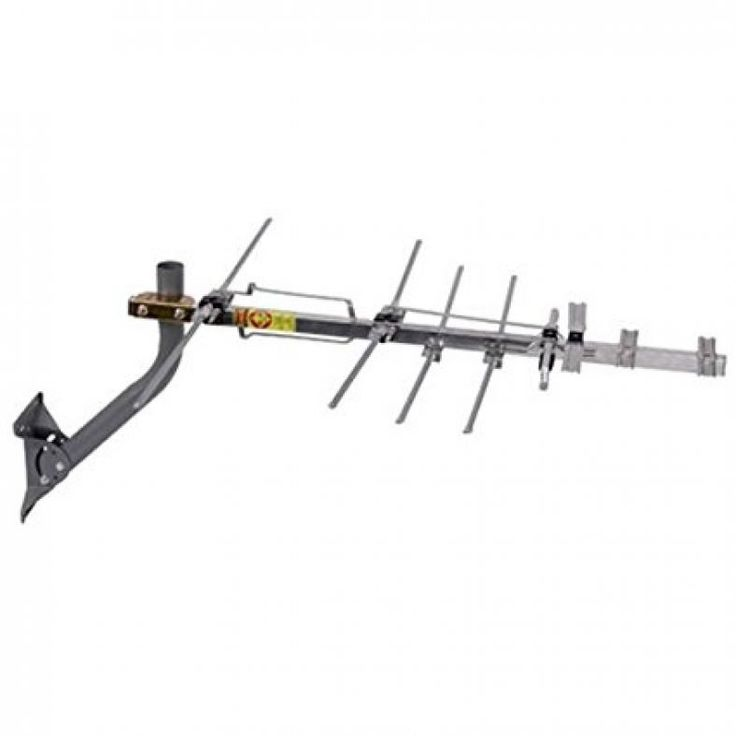 RCA Compact Outdoor Yagi HDTV Antenna with 70 Mile Range