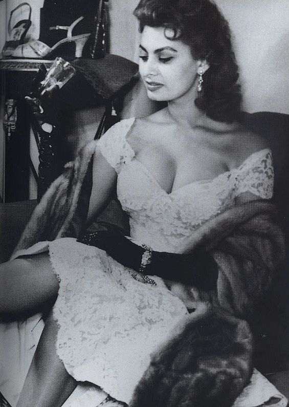 Sophia Loren.  Other films include: El Cid (1961), The Millionariess (1960), It Started in Naples (1960), Vittorio De Sica's triptych Yesterday, Today, and Tomorrow (1963), Peter Ustinov's Lady L (1965), the 1966 classic Arabesque , A Countess from Hong Kong (1967).  Loren received four Golden Globe Awards between 1964 and 1977.  The Voyage (1974), Brief Encounter (1974).