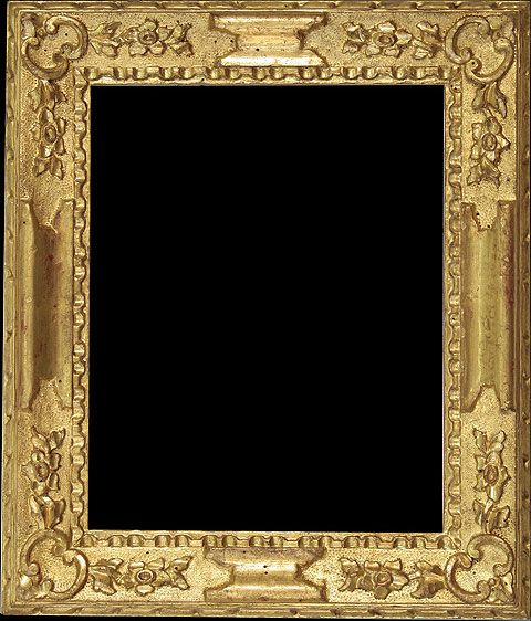 Antique Wood Picture Frame - Venetian 18th Century Frame
