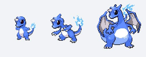 Look at this awesome Charmander to Charizard evolution
