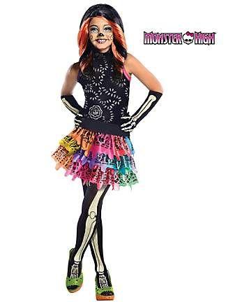 Plus Size Monster High Costumes | ... Calaveras Monster High Costume | Girls Monster High Halloween Costumes