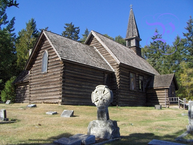 St. Anne's Church (Built in 1894) in Parksville on Vancouver Island - photo by Ron Geen, Parksville Precise Image Photography