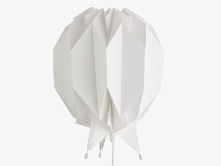 KURA WHITES Paper White paper table lamp - HabitatUK origami, diy, paper art
