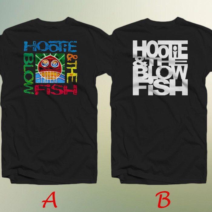 Hootie and The Blowfish Logo Custom T-Shirt T Shirt Men/'s