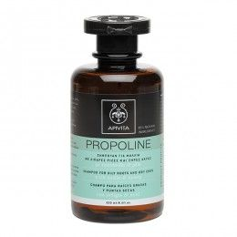 PROPOLINE Shampoo for Oily Roots and Dry Ends with honey & nettle. #BalancingEffecton #Oiliness #Moisturization #Protection #fromSplitEnds # The Shampoo for Oily Roots and Dry Ends balances oiliness, while at the same time maintains hair's natural hydration, by leaving hair beautiful and healthy. It also takes care of dry ends and protects from split ends. Read more at www.apivita.com