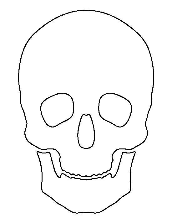 Skull Outline | www.imgkid.com - The Image Kid Has It!