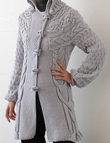 Knitted Jacket Pattern : 1000+ ideas about Knitted Coat Pattern on Pinterest Coat Patterns, Knitting...