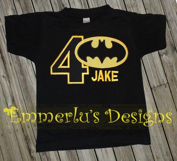 Bat Superhero Birthday Shirt Or Bodysuit In 2019