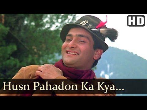 Husn Pahadon Ka Kya Kehna - Mandakini - Rajiv Kapoor - Ram Teri Ganga Maili - Old Hindi Hits - YouTube