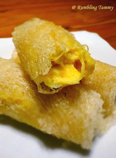 Rumbling Tummy: Crispy Durian Roll