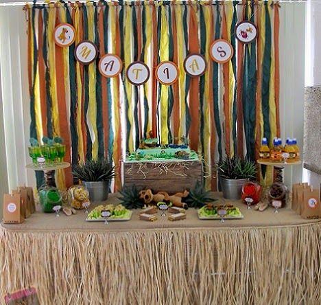 Fiestas Infantiles Rey Leon, parte 1