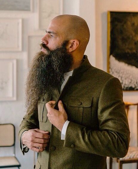 Big Beard Emporium. I love his beards awesomeness. Dude can rock a beard.