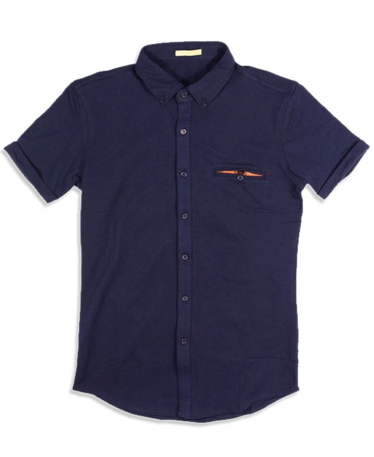 Buttoned-down Polo