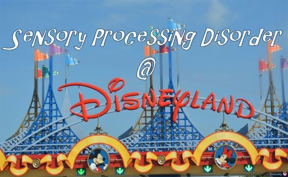 Disneyland with Sensory Processing Disorder can be a real challenge. All the exra stimulation from noise, visuals, body position, smells, etc. This post takes a look at some of the things that they may be a problem and offers possible solutions for helping deal with them. Written by a mother of a child who is primarily a Sensory Seeker and is looking for additional input from other parents who have children with sensory processing issues - especially avoiders.