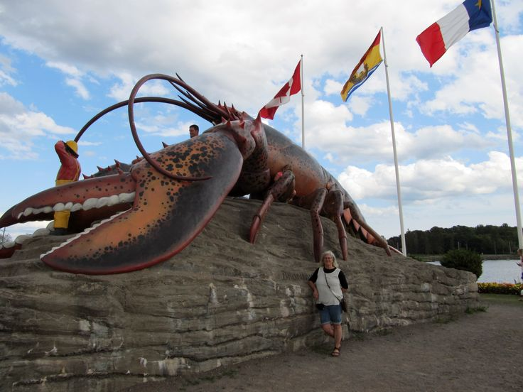 World's largest lobster, Shediac, New Brunswick, Canada
