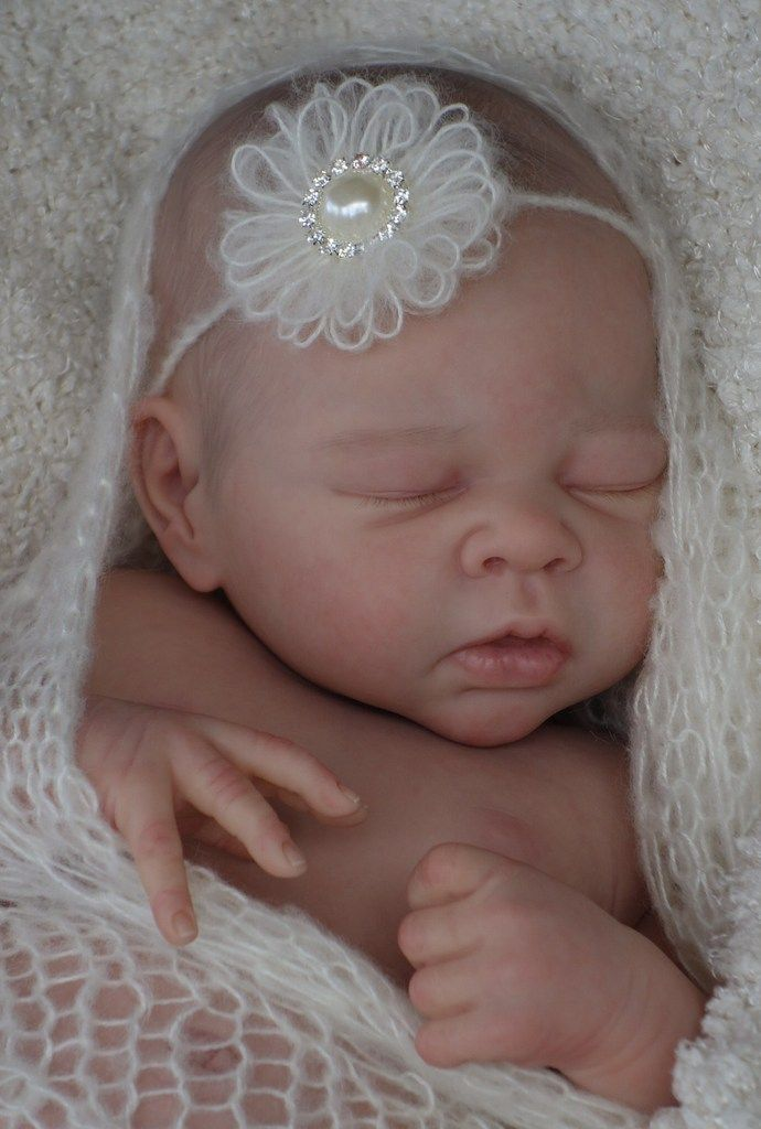 Adopted Reborn Babies - Bespoke Babies Erin sculpt by Adrie Stoate