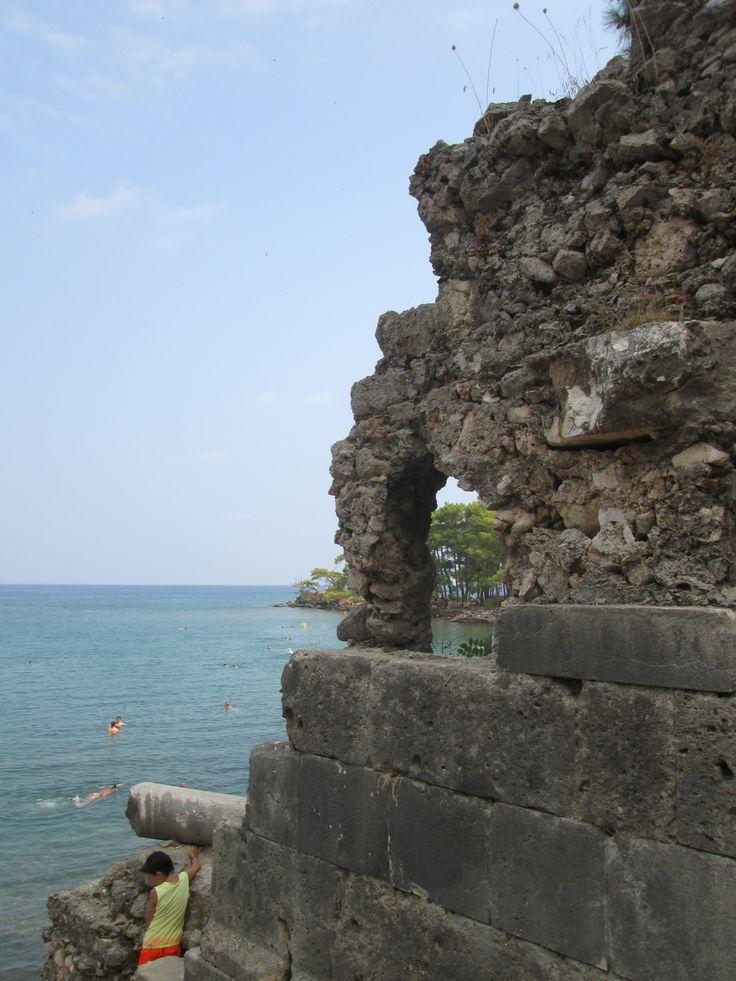 Phaselis, Antický přístav, Turecko