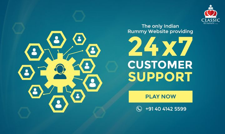Have any query? Classic Rummy is available round the clock and 365 days. Contact Now!  #rummy #online #mobile #ios #games #card #support