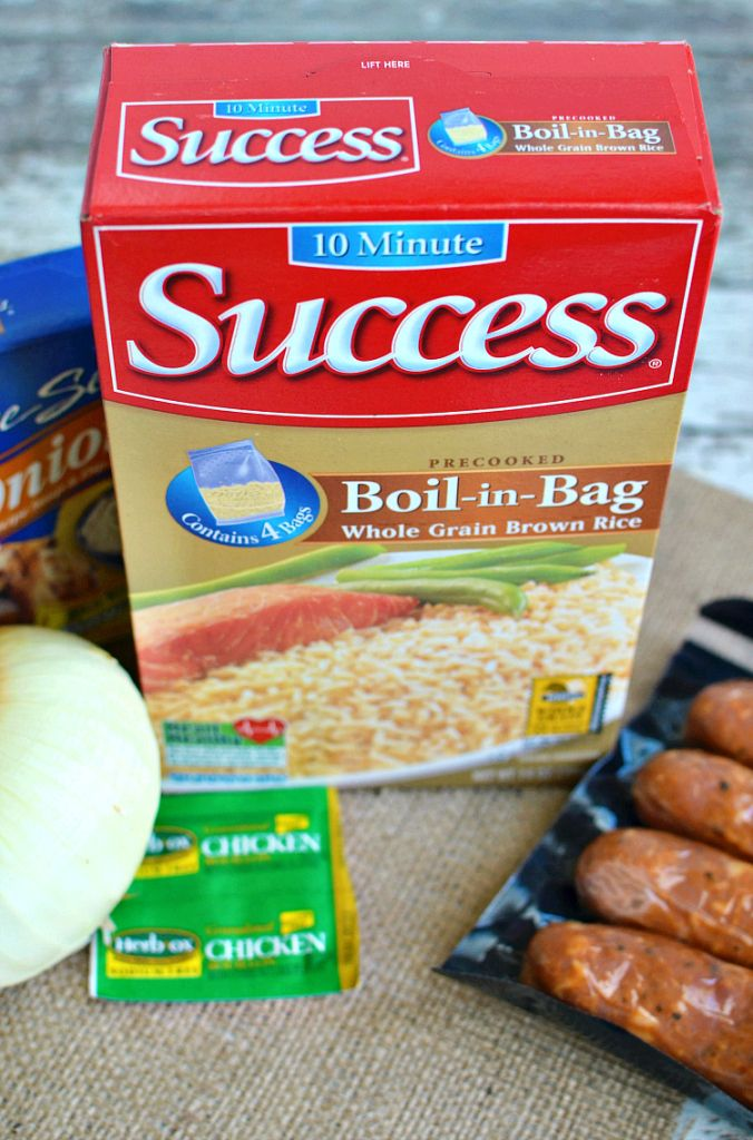 South Carolina Chicken Bog made with Success Boil-in-bag Rice