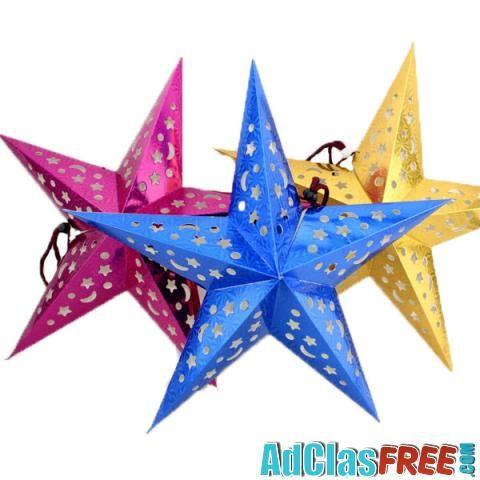 3D Laser Christmas Paper Star