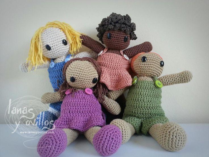 Amigurumi Dolls Free Patterns : Amigurumi doll free pattern Our amigurumis Pinterest