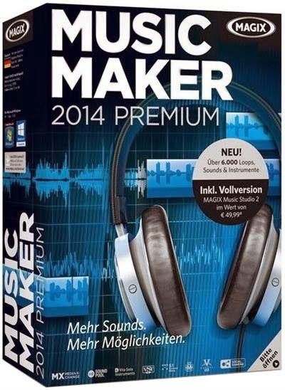 magix music maker 2014 premium crack keygen patch