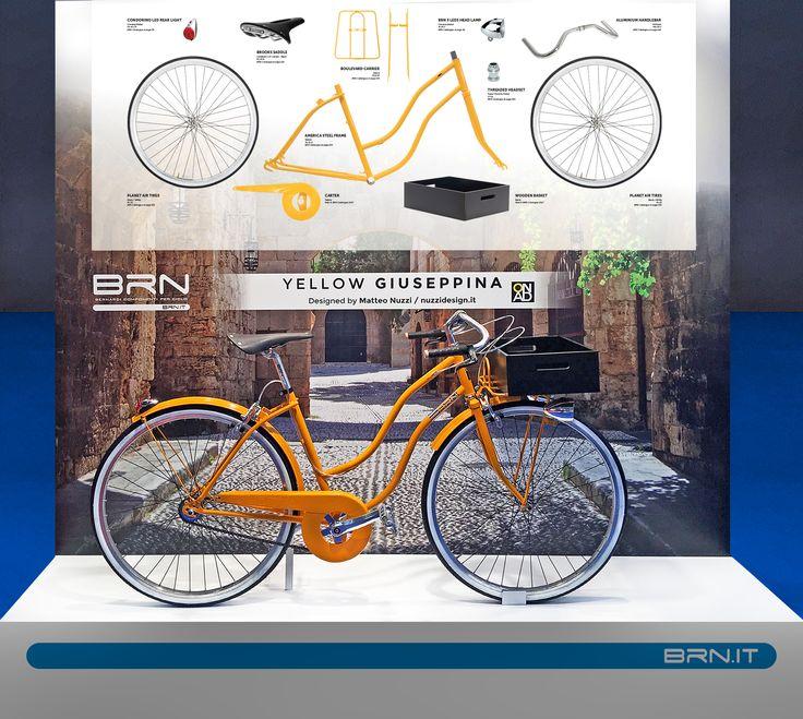 Ecco alcune delle #novità #2017 #BRN presentate in occasione della fiera della #Bicicletta di #Madrid! Questo modello realizzato da #Nuzzi #Design si chiama #Giuseppina. Vi piace? #custombike #bikeparts #bicycleparts #fixedgear #frame #bowframe #baaw #bicyclelifestyle #bicyclelove