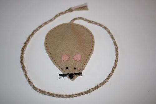Mouse Bookmark | Wee Folk Art