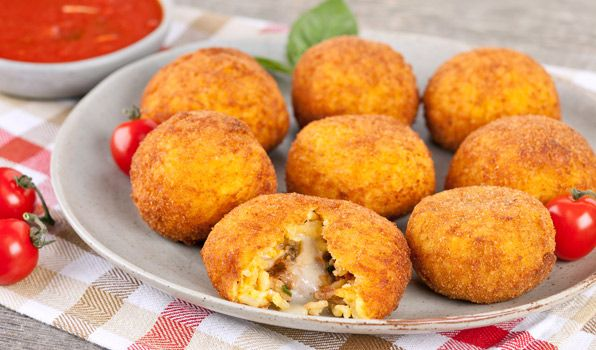 Italian Rice Balls (Arancini) - In the Kitchen with Stefano Faita
