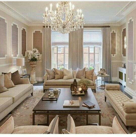 A Look At The Whole Room We Opted For More Opulent Design In Here To Complement Grand Scale Of And Property