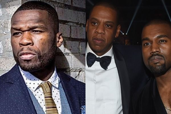 50 Cent Says Jay Z Had A Problem With His Popularity Back In The Day Used Kanye West To Help Him In 2020 Jay Z Kanye West Back In The Day
