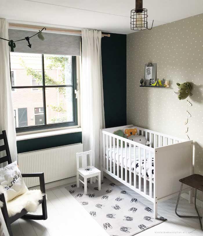 Babykamer groen | Kinderkamerstylist