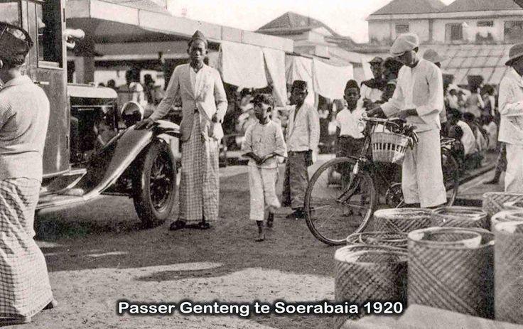 Pasar genteng 1920