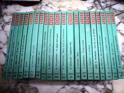 """Lotto Collana """"maestri""""- 20 Volumi - Ed. Paoline - Letteratura Classica"""