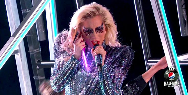 Gaga Takes the Plunge! Mother Monster Opens Halftime Show with Jump from Stadium Roof
