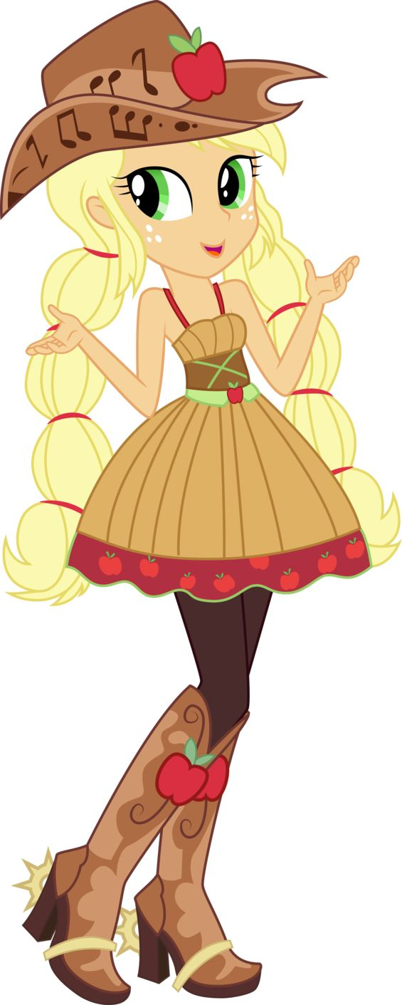 Applejack (RR - Friendship Through the Ages) by DiamondSword11 on DeviantArt