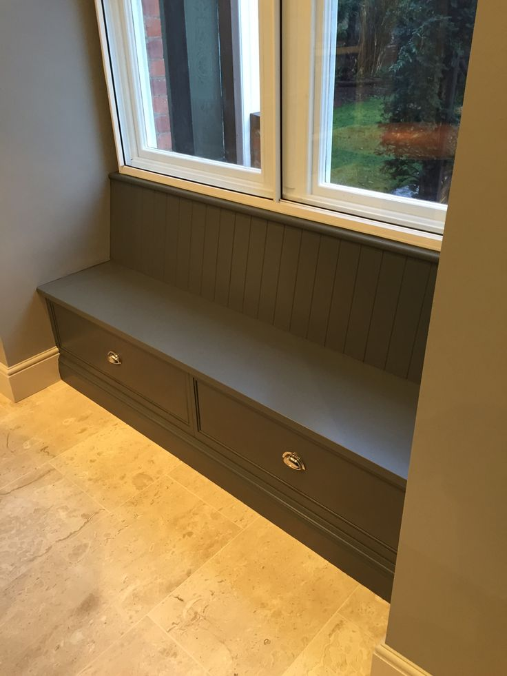 Tom Howley Bench Seat - boot room?