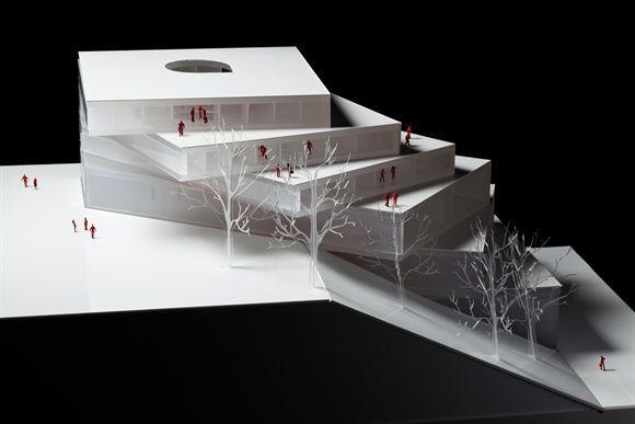 "modelarchitecture: "" 3xn - John Cranko Ballet School """