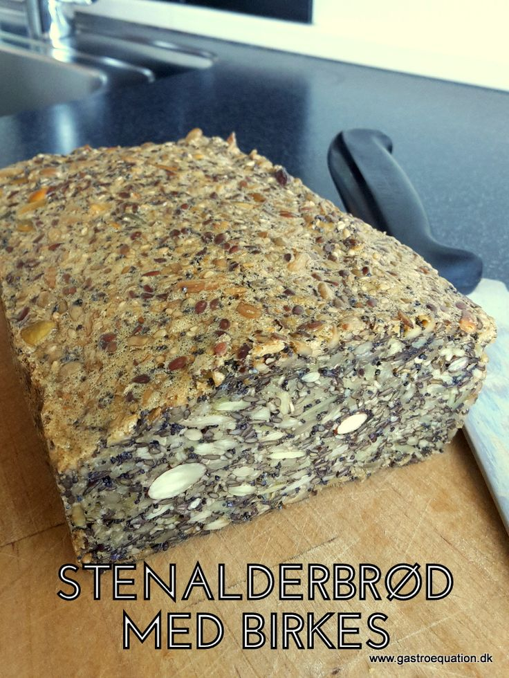Stenalderbrød findes i mange variationer. Jeg er selv blevet glad for en udgave med birkes, som fungerer godt i en travl hverdag og som er low fodmapvenlig