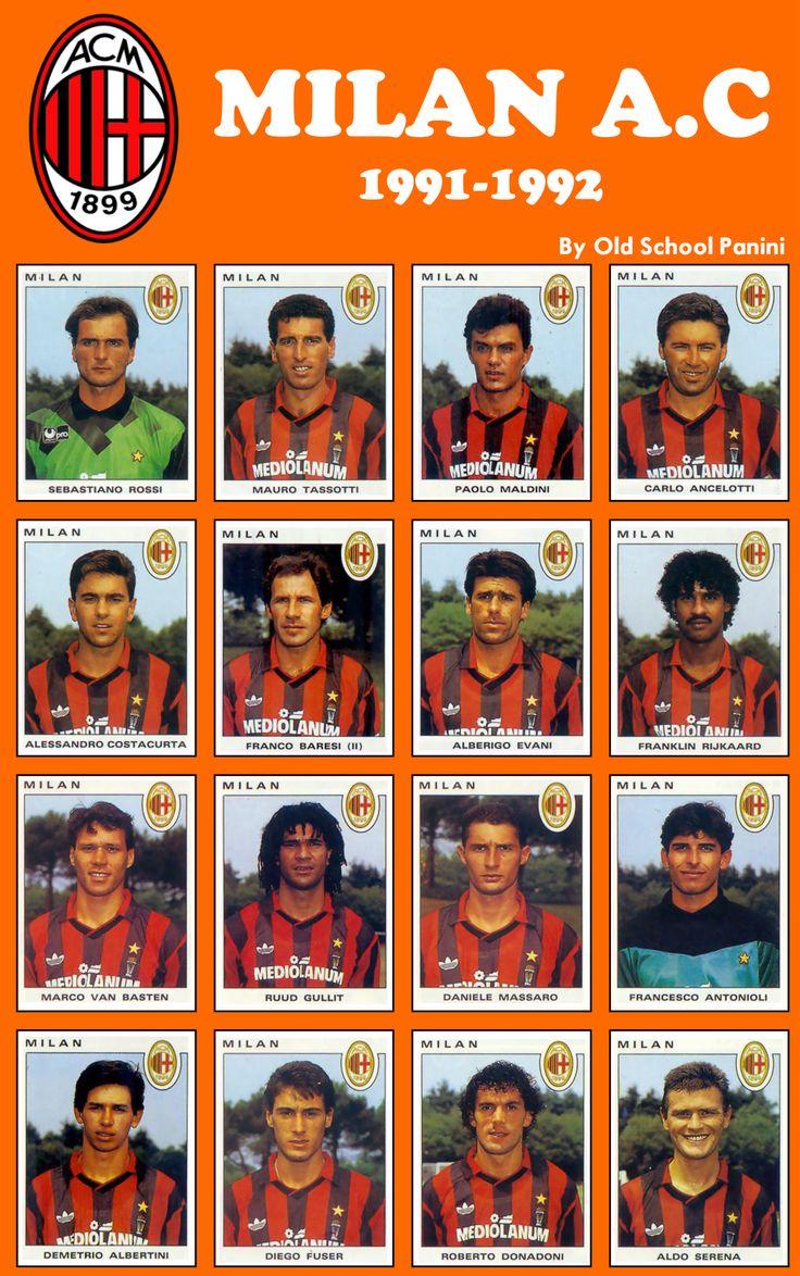 Milan AC 1991-92