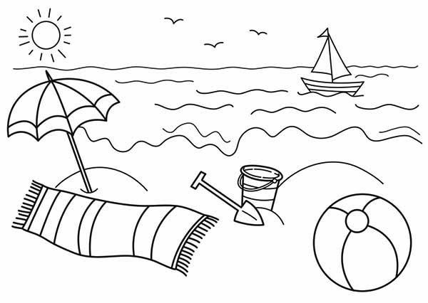 Coloring Beach Pages Free Coloring Sheets Beach Coloring Pages Summer Coloring Pages Coloring Pages To Print Free preschool coloring pages summer