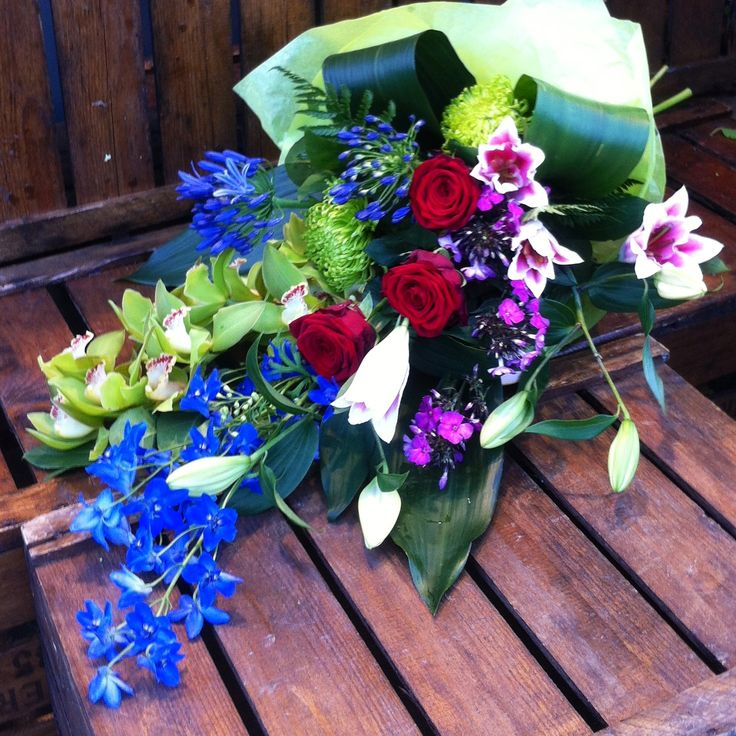 orchids, roses, lillies,