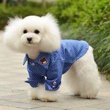 Собака, пальто Одежда для маленьких собак Щенок наряд куртка Чихуахуа Одежда Весна Рубашки Cat дешевые Ropa De Cachorro 40(China (Mainland))