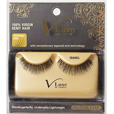 Kiss i-ENVY V Luxe 100% Virgin Remy Hair Eyelashes - Isabel #VLE09 $5.39   Visit www.BarberSalon.com One stop shopping for Professional Barber Supplies, Salon Supplies, Hair & Wigs, Professional Product. GUARANTEE LOW PRICES!!! #barbersupply #barbersupplies #salonsupply #salonsupplies #beautysupply #beautysupplies #barber #salon #hair #wig #deals #Kiss #iENVY #VLuxe #Virgin #RemyHair #Eyelashes #Isabel #VLE09
